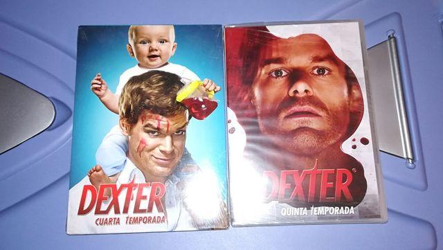 Dexter serie DVD temporadas 4 y 5 de segunda mano por 4 € en Ciudad ...