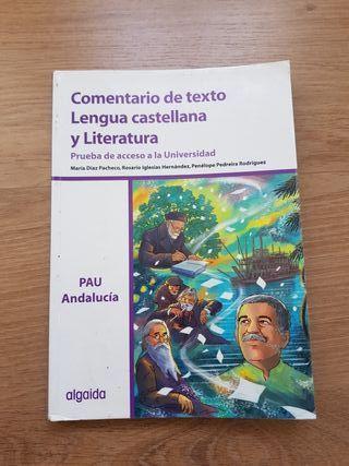 Libro de Comentarios de texto Lengua y Literatura