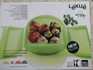 Lékué: cocina al vapor en el microondas
