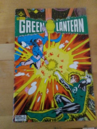 linterna verde comic. numero 4
