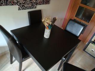 mesa i sillas comedor