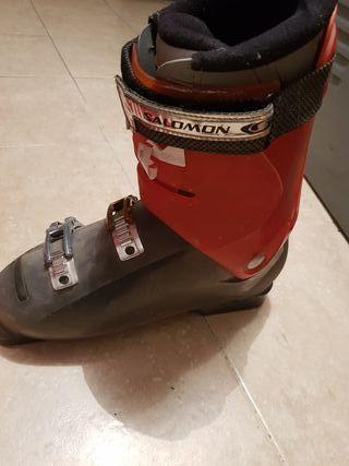 botas de esquiar Salomón