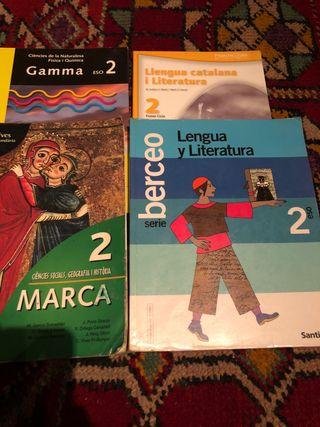Libros de texto de 2o de la ESO