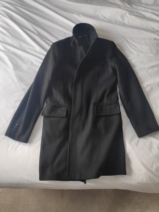 Black dress coat