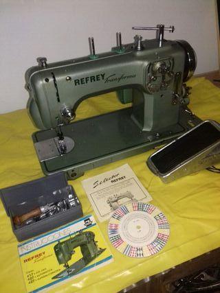 Maquina de coser Refrey autom.427