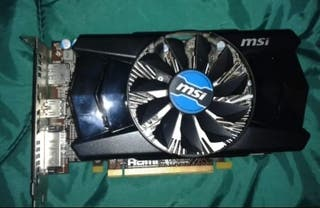 Tarjeta gráfica MSI HDMI AMD RADEON R7 2GB DDR5