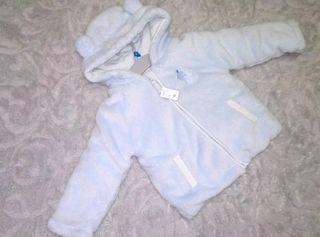 Precioso abrigo osito bebé ropa NUEVO