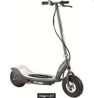 Razor-E300 Scooter eléctrico Color Gris Mate 0 Raz