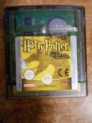 Juego Game boy color Harry Potter y la Camara secr