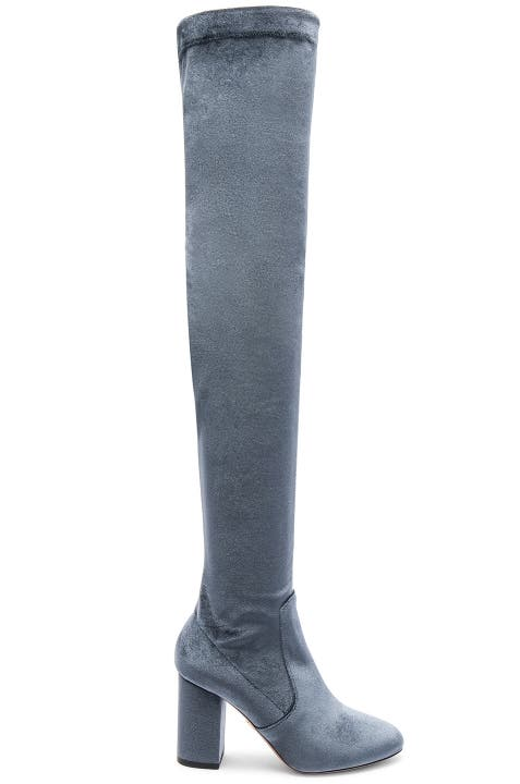 Aquazzura Velvet Thigh high Boots