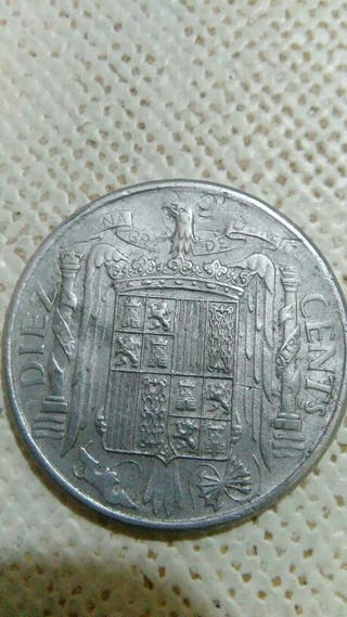 error de moneda de 10 centimos de 1953.