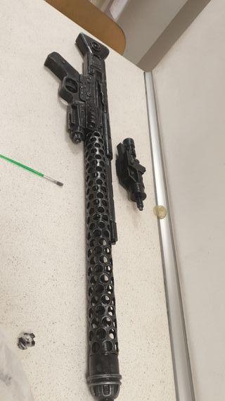 rifle dlt20a star wars tamaño 1:1 impreso en abs
