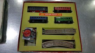Ferrocarril eléctrico antiguo