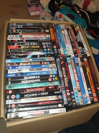 180+ dvds