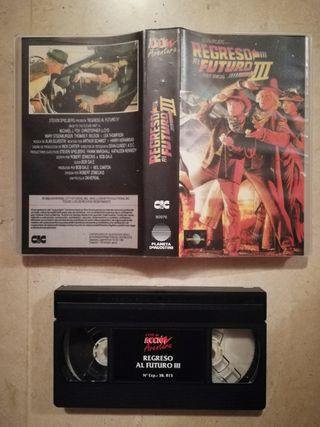 Película VHS Original Regreso al Futuro 3