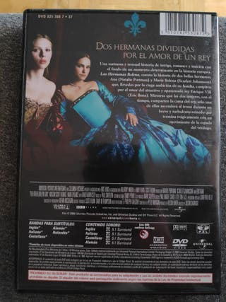 Las hermanas bolenas dvd