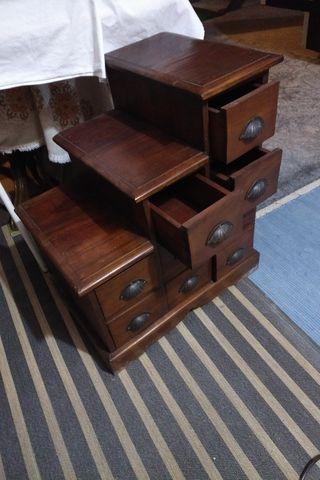mueble decoracion, rustico, madera maziza