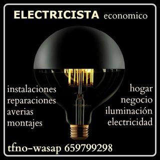 ELECTRICISTA PROFESIONAL y ECONOMICO -