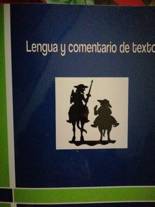 libro de lengua y comentarios de texto