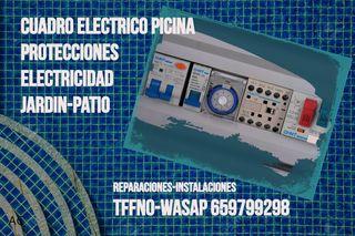 Cuadro Electrico Piscina-Reparación