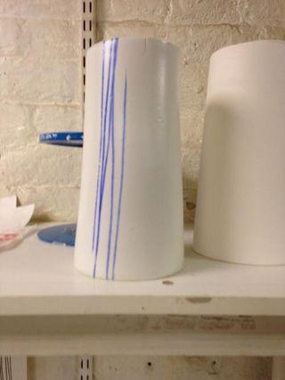 Pottery mould for vase shape