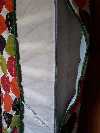 Colchón espuma 1,20 x 1,90, 12cm grosor