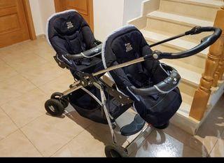 Carro gemelar bebé Confort