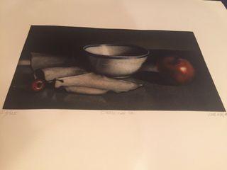 Grabado de Ramiro de Undabeytia de 57x51 cm