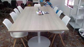 Mesa de reuniones 240x120cm