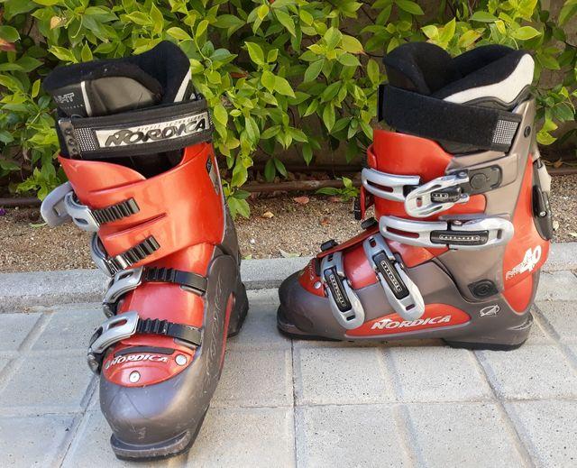 Botas esquiar nordica 25.5