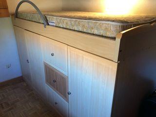Dormitorio individual tipo canapé