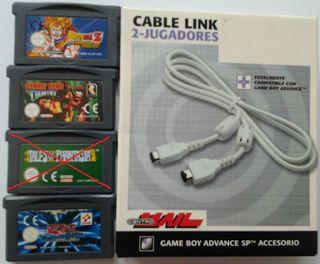 gameboy advance juegos y accesorios