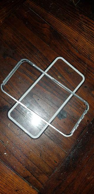 funda aluminio samsumg s8 plus