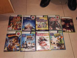Juegos de la Xbox 360 lote