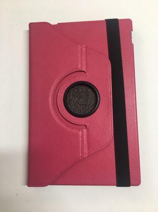 """Funda para tablet SONY XPERIA Z, 10.1"""" Rosa 360"""""""