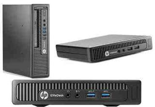 ORDENADOR HP ELITEDESK 800 G1 MINI WIFI i5 8GB SSD