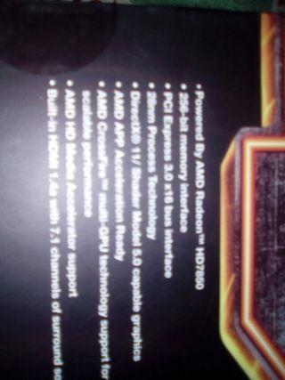 tarjeta gráfica de 2 GB DDR5