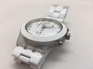 Reloj 79 De Mano Irony 95 Blanco Swatch Segunda € En Diaphane Por TFJuKcl13