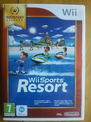 Juegos Wii (Wii Sports Resort)