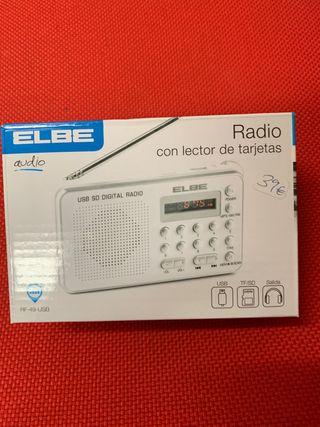 Radio Elbe digital modelo RF-49-USB