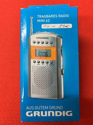 Radio Grundig digital de bolsillo modelo mini 62