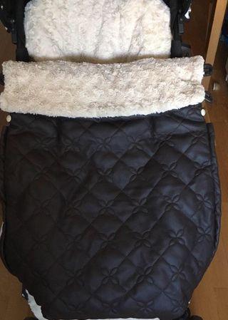 Conjunto de saco de invierno y bolso cambiador
