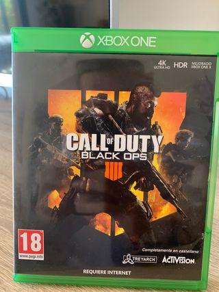 Vendo o cambio black Ops Xbox one
