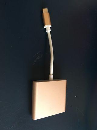 CONECTOR NUEVOS MAC HDMI USB CHARGUER