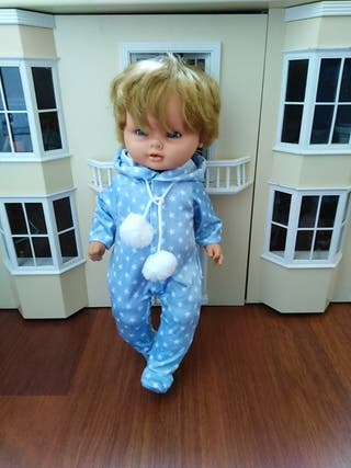 pijama para muñeco pinito o nenuco