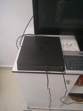 ps4 slim 500 gb + mando + juego digitales y fisico