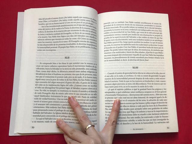 Libro El Anticristo y Ecce Homo Nietzsche