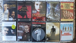 Pack 10 DVDs en blister sin abrir