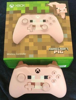 mando Xbox one Minecraft pig