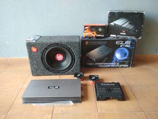 Pack audio